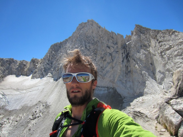 A typically unflattering self-portrait below the North Ridge of Mt. Conness.